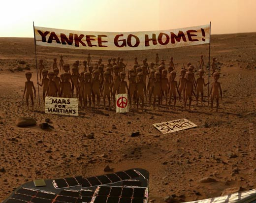 EXPLOSIVE NEW EVIDENCE PROVES MARS LANDING IS A HOAX ...
